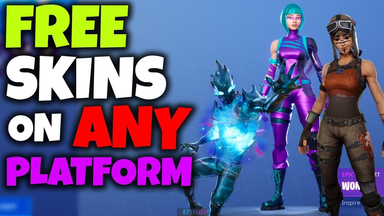 Fortnite Skin Generator Working 2020 No human No Survey Verification