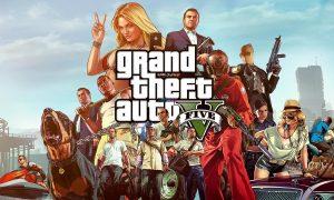 GTA 5 Cracked PC Full Unlocked Version Download Online Multiplayer Torrent Free Game Setup