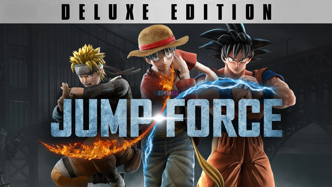 JUMP FORCE Deluxe Edition PC Unlocked Version Download Full Free Game Setup