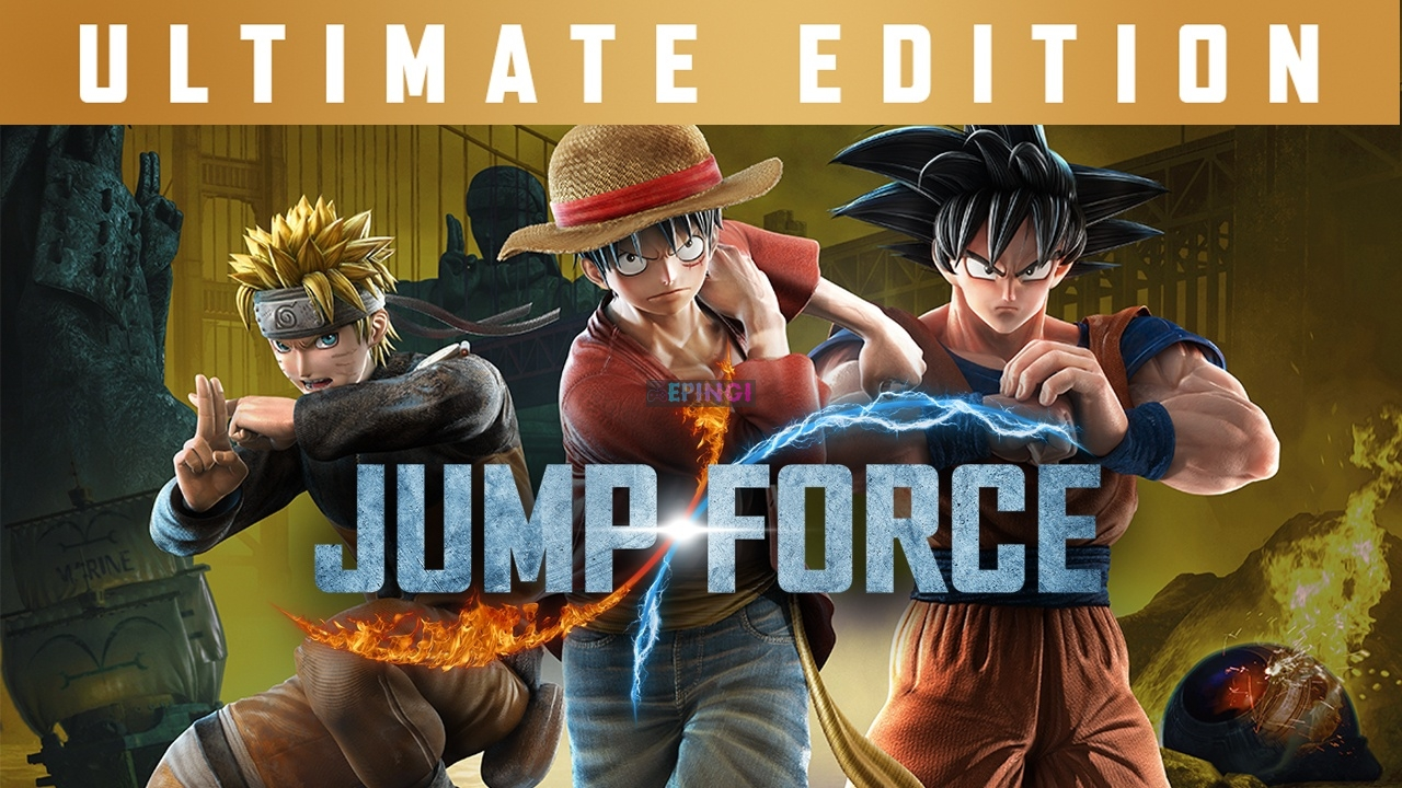JUMP FORCE Ultimate Edition PC Unlocked Version Download Full Free Game Setup