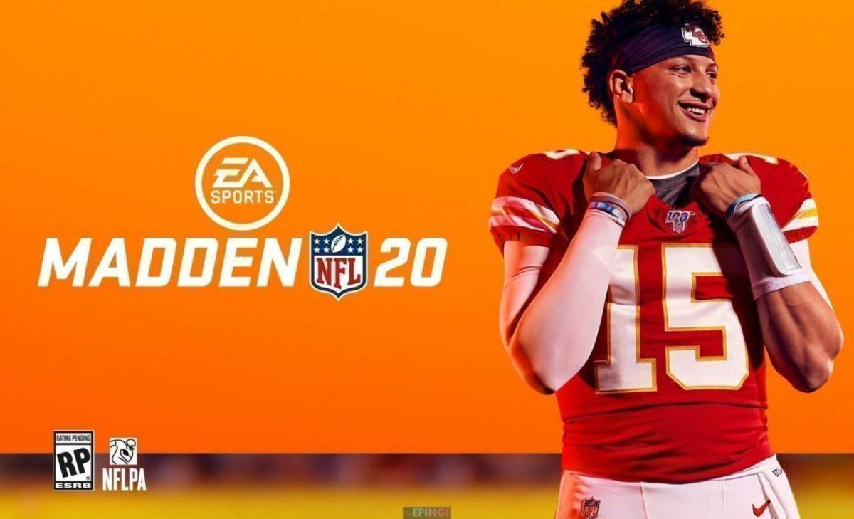 Madden NFL 20 PC Version Download Full Free Game Setup