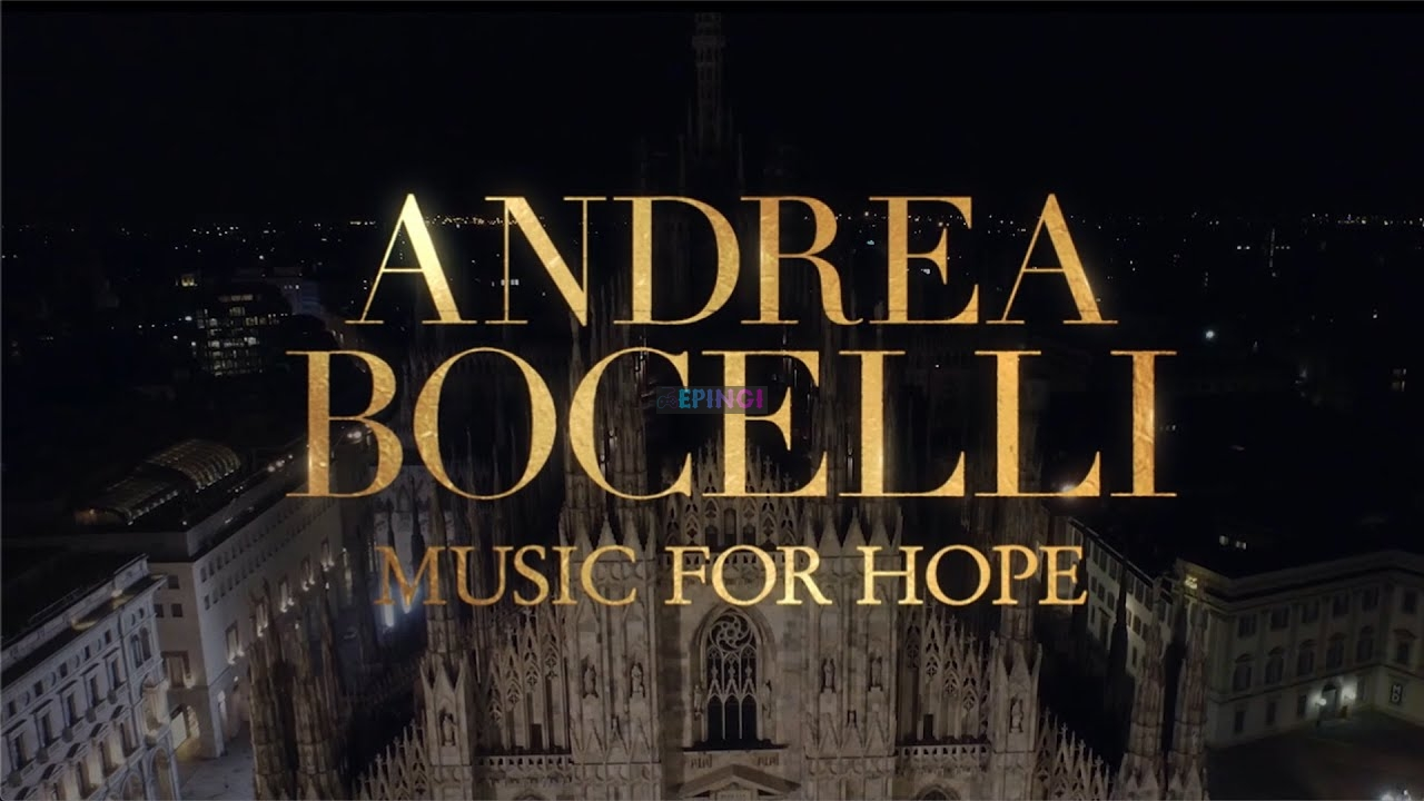 Coronavirus, at Easter Andrea Bocelli in concert at the Milan Cathedral: I believe in the strength to pray together