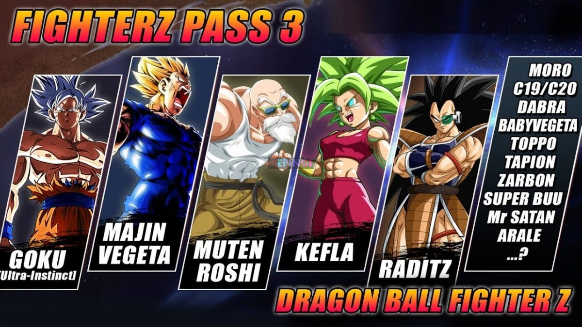dragon ball z fighters free download