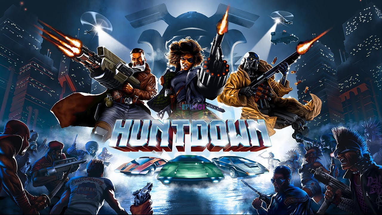 Huntdown PC Version Full Game Setup Free Download