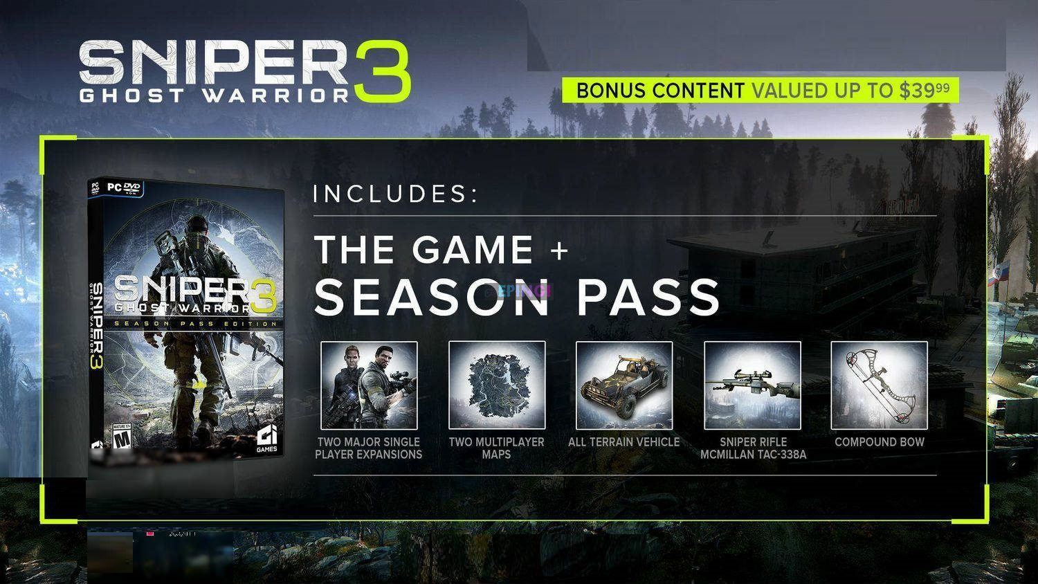 SNIPER GHOST WARRIOR 3 SEASON PASS EDITION APK Mobile Android Full Version Free Download