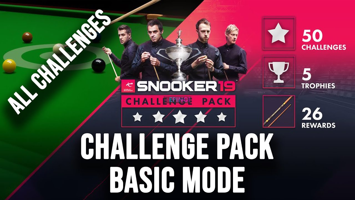 Snooker 19 Challenge Pack PC Version Full Game Setup Free Download