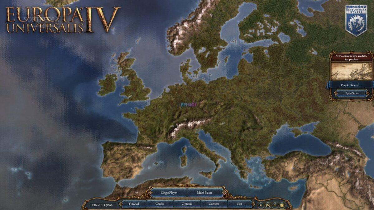Europa Universalis 4 PC Version Full Game Setup Free Download