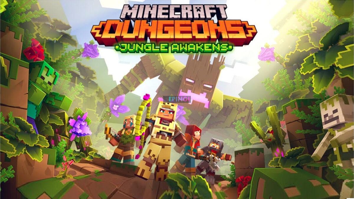 Minecraft Dungeons Jungle Awakens DLC Apk Mobile Android Version