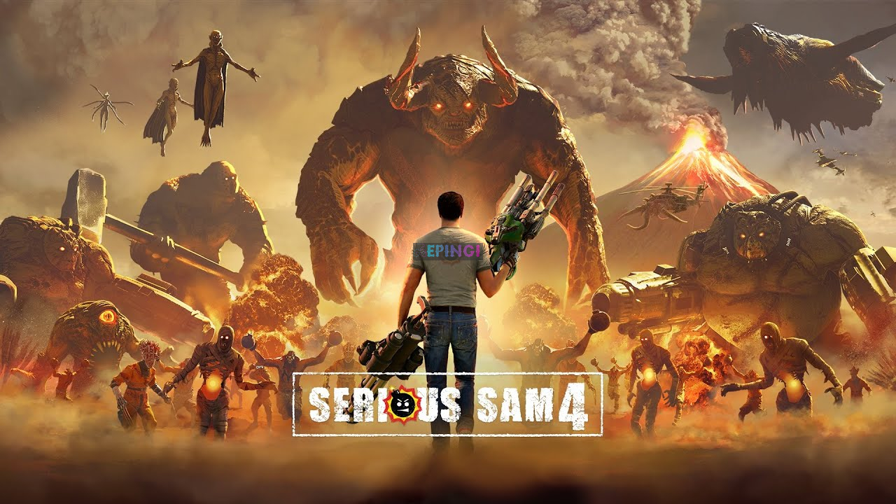 Serious Sam 4 PC Version Full Game Setup Free Download