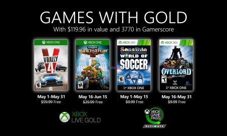 The first June Games with Gold are now available